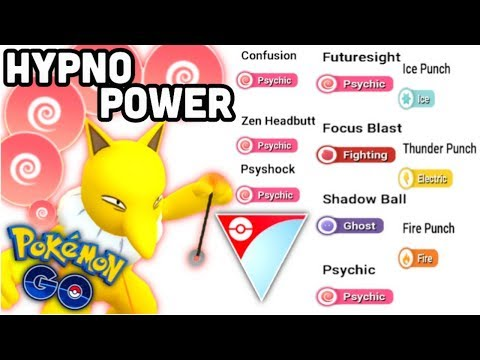 Hypno's AMAZING Move Pool In Pokemon GO | Testing Legacy Hypno In GBL