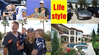 Tony Romo Wife, children, Bio, Career, Net worth, House, Car Collection 2017