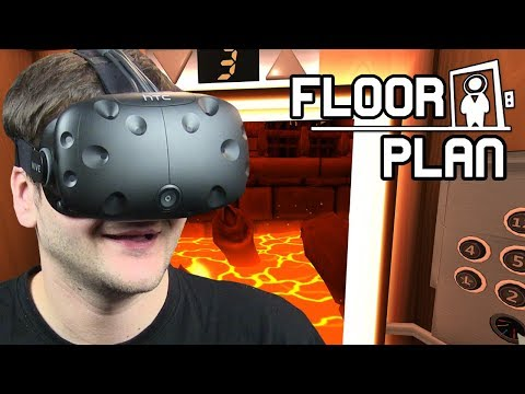 Download Youtube: ZAGADKOWA WINDA - Floor Plan: Hands-On Edition (HTC VIVE VR)
