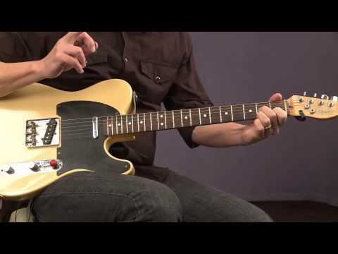 Blues Guitar Lessons with Keith Wyatt: Soloing with Chords