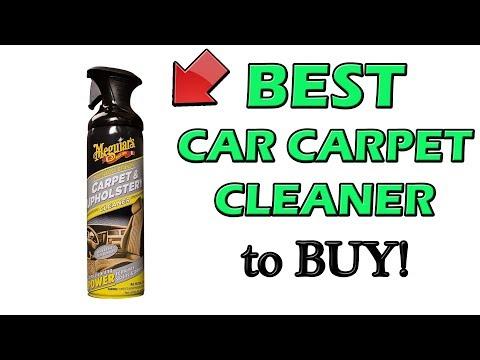 Best Carpet Cleaner for Cars - Cheap Car Upholstery Cleaner!