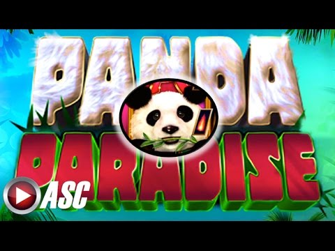 PANDA PARADISE (QUICK FIRE JACKPOTS) - Aristocrat - Nice Win! Slot Machine Bonus - 동영상