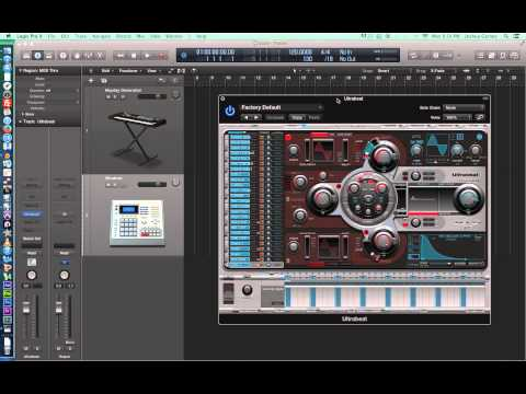 Logic Pro X - Video Tutorial 26 - Intro to MIDI, Recording MIDI, Basic MIDI Editing