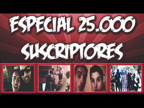 ¡Especial 25.000 Subs! Epic video! Rubius, Mangel, Willyrex y demás!