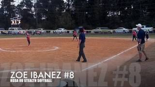 zoe kgsa 8u stealth softball game clips