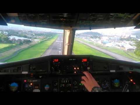 Landing RWY 02 SKMD - ATR 42-500 EASYFLY