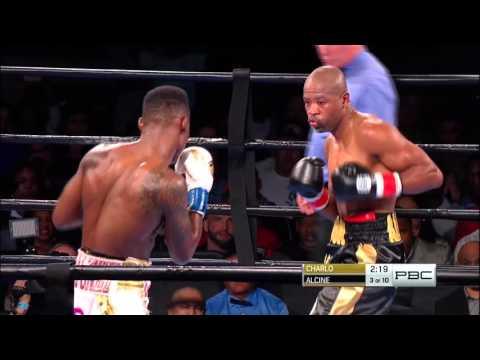 Charlo vs. Alcine FULL FIGHT: Oct. 31, 2015 - PBC on NBCSN