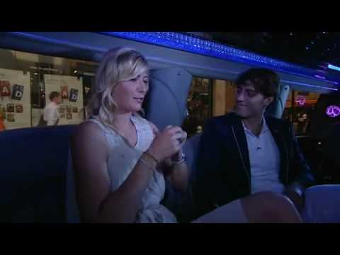Maria Sharapova Limo Interview