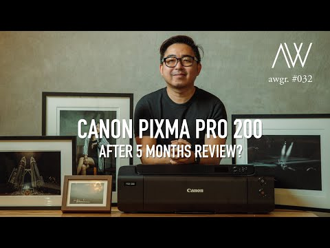5 Months with the Canon Pixma PRO 200 (Reupload)