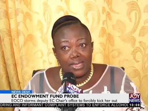 EC Endowment Fund Probe - News Desk on JoyNews (16-1-18)