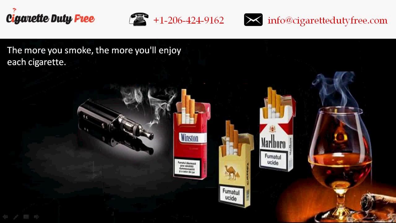 Maryland airport duty free cigarettes Marlboro price