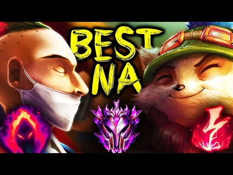 i met the best teemo NA in my last master promo game