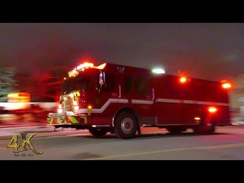 Canada: Emergency vehicle response compilation around the GTA