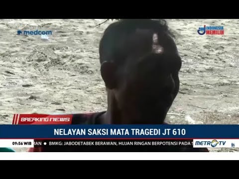 Saat Lion Air JT610 Jatuh, Nelayan ini Mengaku  Sedang Menyelam dan Mendengar Ledakan Keras