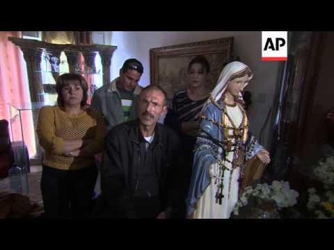 Locals claim Virgin Mary statue has begun weeping tears