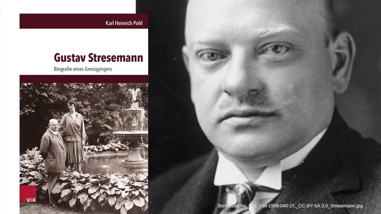 Youtube Video: Donnerstagsgespräch: Gustav Stresemann, Dresden und die Weimarer Republik.