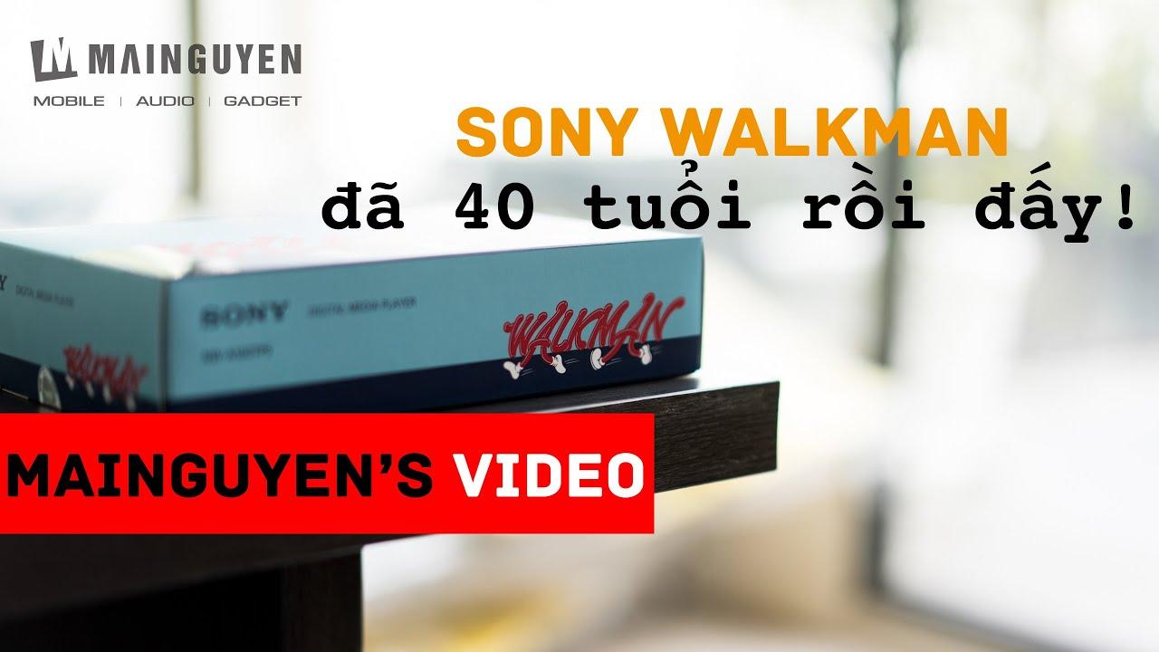 [Khui hộp] NW-A100TPS – Chiếc máy nghe nhạc kỉ niệm 40 năm thương hiệu Sony Walkman