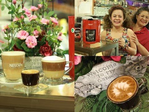 รีวิวชงกาแฟง่ายๆที่บ้าน Espresso Cappuccino Latte ด้วยเครื่อง Nescafe Red Cup