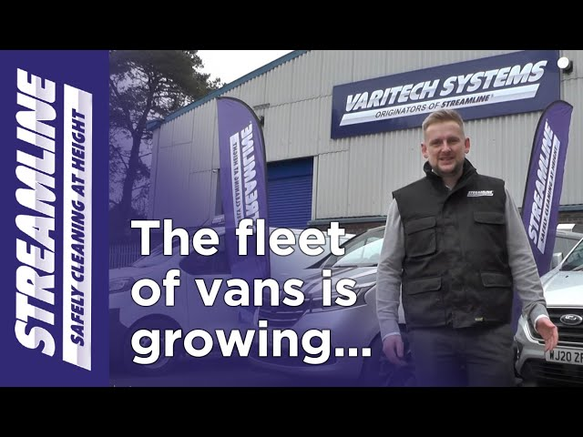 The fleet of window cleaning and pressure washing vans is growing!