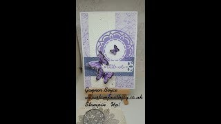 My Weekly Sketch Stampin' Up!
