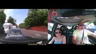 Калининград. Урок этики на дороге.