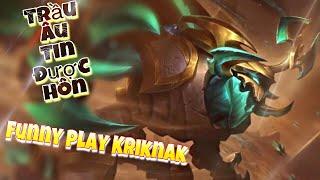 LIÊN QUÂN MOBILE | Kriknak vị tướng Shock Dame mắm dố nhất là đây chứ đâu! Bắt Xạ Thủ nhanh gọn lẹ!