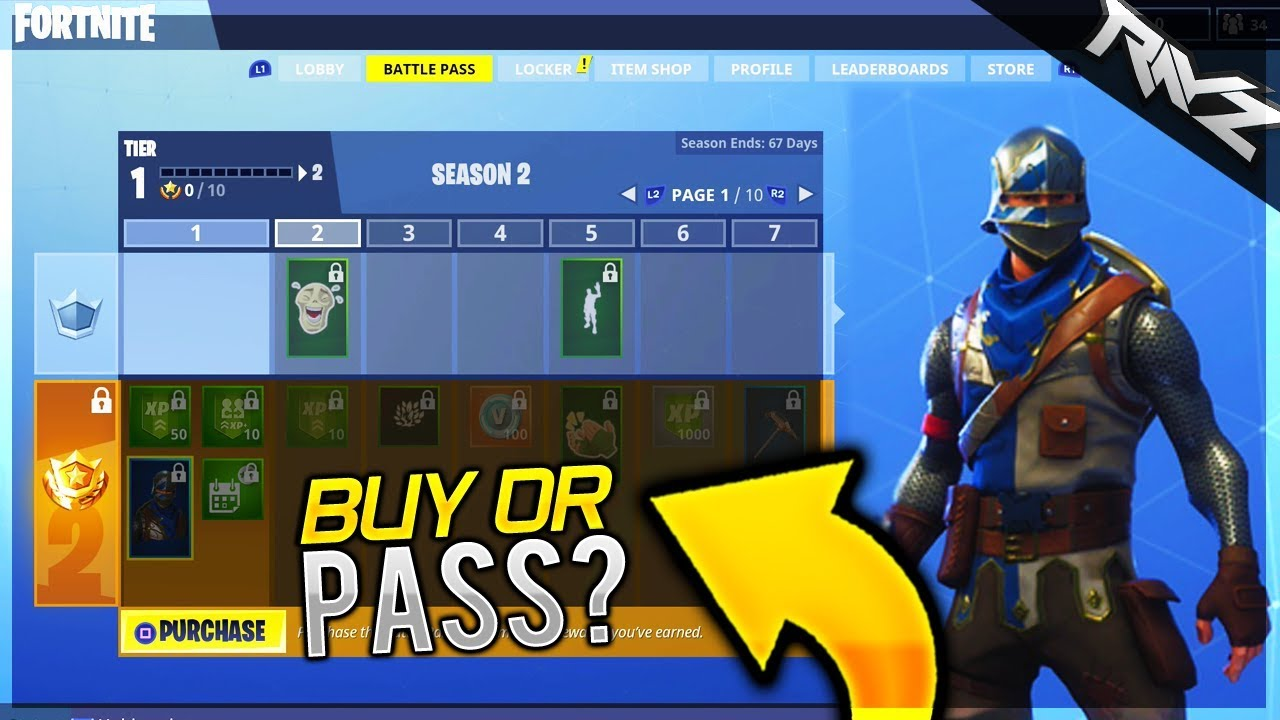 Fortnite Battle Royale: Battle Pass - Orcz.com, The Video ...
