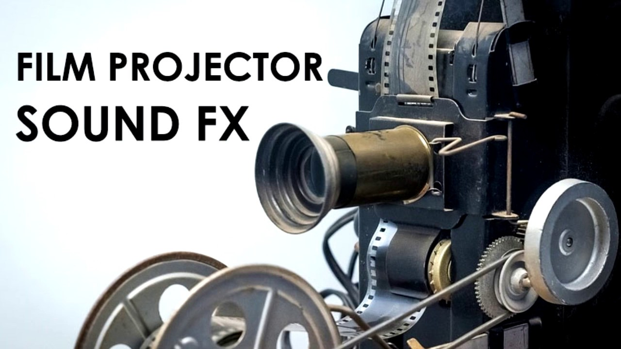 Film Projector Sound Effect Mm Old Film Projector Fx Youtube