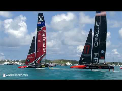 Summary America's Cup Match June 17 2017