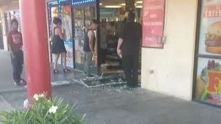 Car Crash In Store