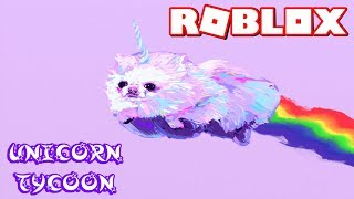ROBLOX UNICORN TYCOON! FLYING PONIES WITH MAGICAL RAINBOWS. | KID GAMER GIRL PLAYS