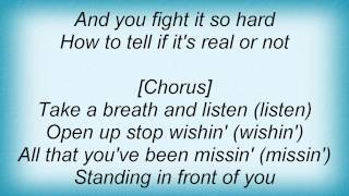 Kelly Clarkson - Standing In Front Of You Lyrics