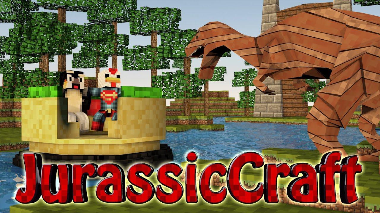Minecraft Dinosaurs Jurassic Craft Modded Survival Ep 30