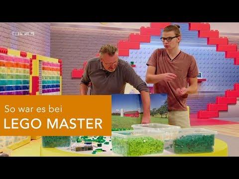 So war es bei LEGO MASTER