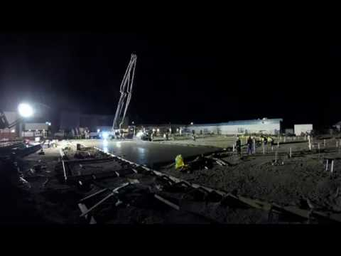 Las Cruces High School Phase 2 Pour