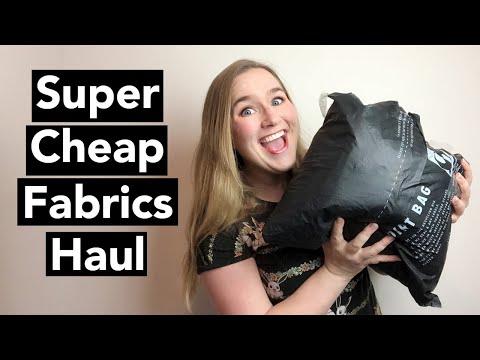 Super Cheap Fabrics Haul: Online Australian Fabric Store