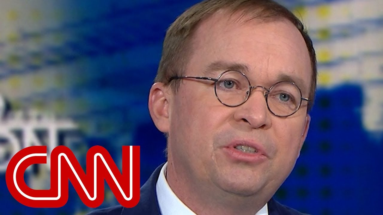 Mulvaney on shutdown: Trump has authority to defend the nation