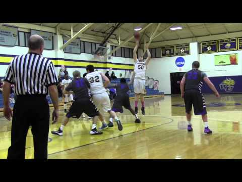 Webster men earn a fourth straight win over Iowa Wesleyan College