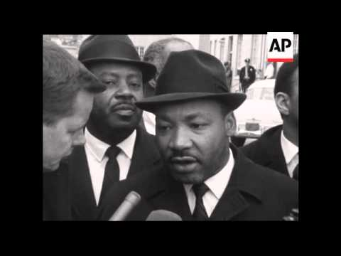 MARTIN LUTHER KING LEADS CIVIL RIGHTS PROTESTS IN ALABAMA - 1965