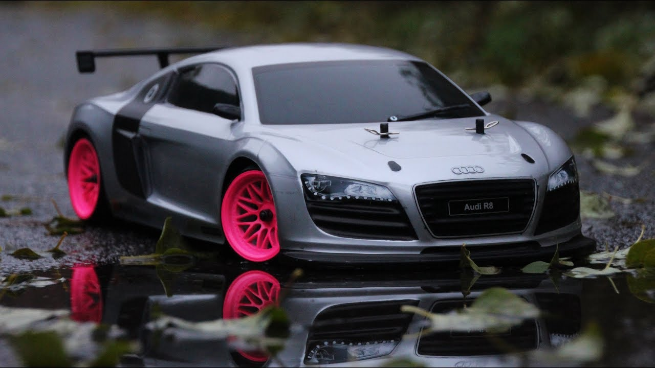 audi r8 rc drifting youtube. Black Bedroom Furniture Sets. Home Design Ideas