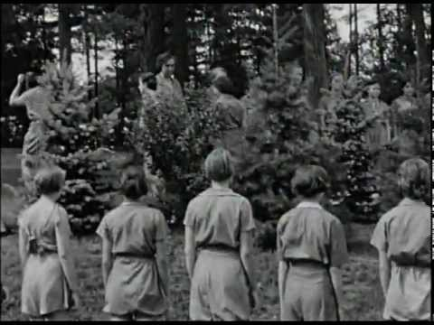 Huntingdon, Pa. Girl Scout Camp 1930 (Part 1 Of 3)
