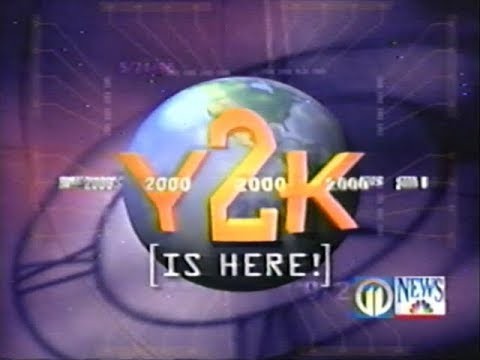New Years Coverage for 2000 - Y2K WPXI Channel 11 Pittsburgh