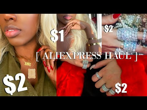 VERY EXTRA Aliexpress Accessories Haul || Boujee On A Budget $$