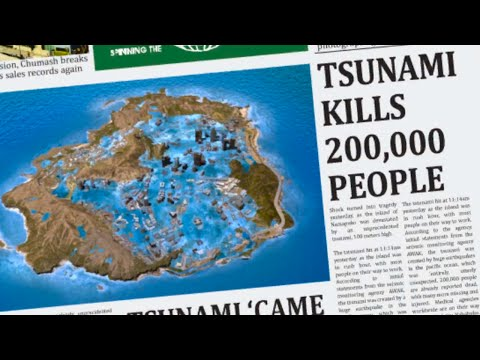 GTA TSUNAMI MOD! - UNDERWATER LOS SANTOS & OVER 200,000 PEOPLE DEAD! (GTA V MOD)