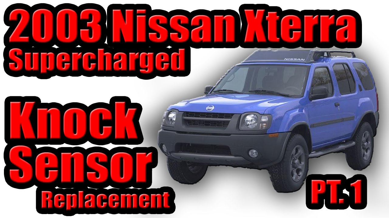 maxresdefault 2003 nissan xterra supercharged knock sensor replacement part 1  at gsmx.co