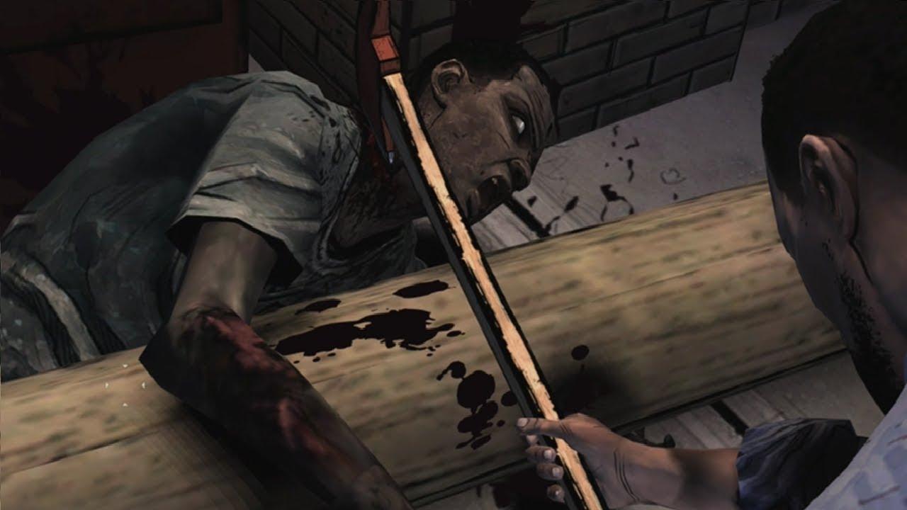 Братишка Прости!!! Прохождение the Walking Dead: the|если мне нравится всякая хрень