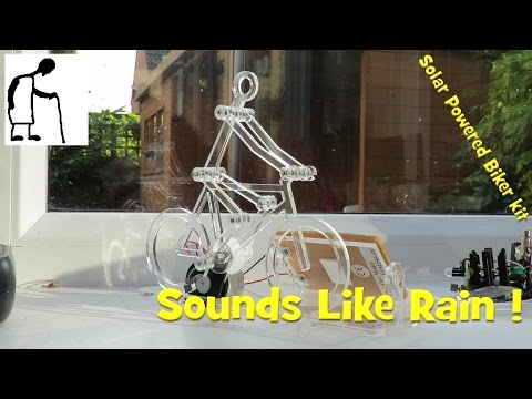 Solar Powered Biker kit  - Sounds Like Rain