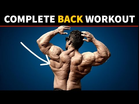TUESDAY- Complete Back Workout | Yatinder Singh