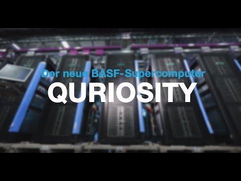 BASF Forschungspressekonferenz 2017: Supercomputer QURIOSITY