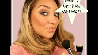 Where to apply Blusher and Bronzer Thumbnail